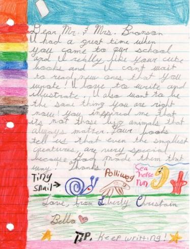 Bella's Letter