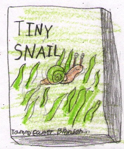 Tiny Snail Cover drawn by Tye at Liberty Christian School.