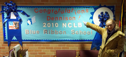 Dennison Elementary is a Blue Ribbon School