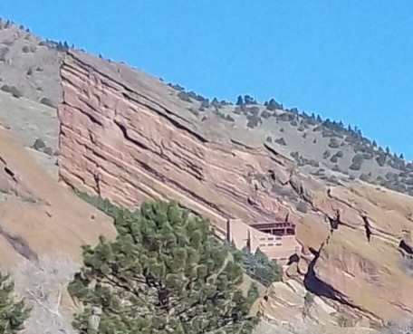 Red Rocks Amphitheater Enlarged